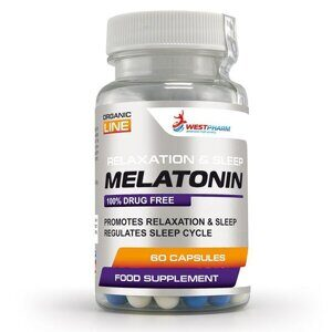 Melatonin 10 мг 60 капс