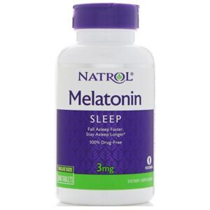 Melatonin 3 mg 60 таб